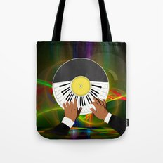 Play My Record Tote Bag