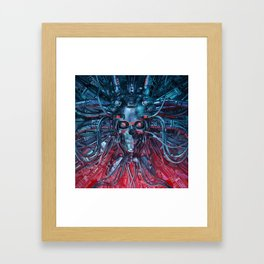 Heavy Metal Mind Framed Art Print