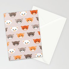 Cats, cats, cats Stationery Cards