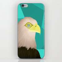 eagle iPhone & iPod Skins featuring Eagle by Nir P