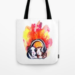 Guinea Pigs Music Tote Bag