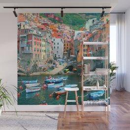 Italy. Cinque Terre marina Wall Mural