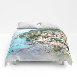 Picture perfect Positano Comforters