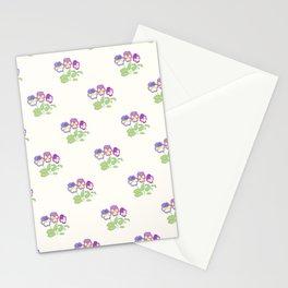 Pansies Neck Gator Pansies Stationery Cards