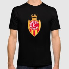 KCFC (Spanish) Black Mens Fitted Tee LARGE