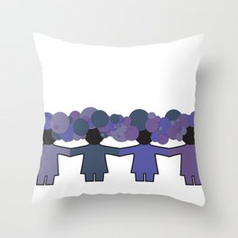 changeling Throw Pillow