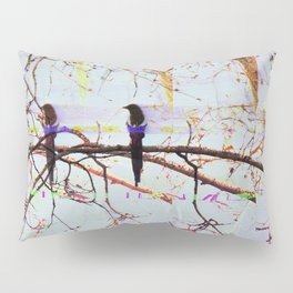 Multi Magpie Pillow Sham