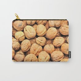 Walnut background Carry-All Pouch