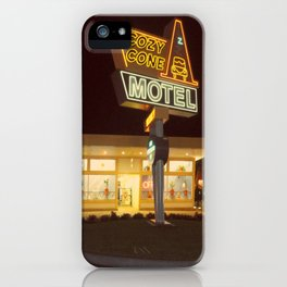 Cozy Cone Motel iPhone Case