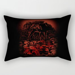 WOLFTHRONE Rectangular Pillow