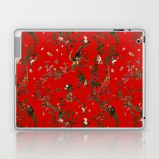 Monkey World Red Laptop & iPad Skin