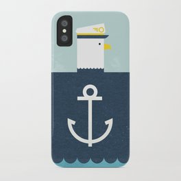 Eagle Captain iPhone Case