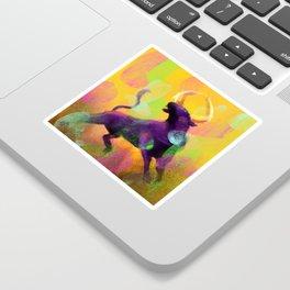 Ragging Bull Sticker