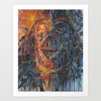 vader Art Prints featuring Vader by artofJPH