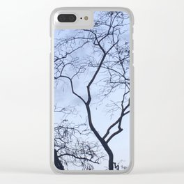 Tree branches Clear iPhone Case