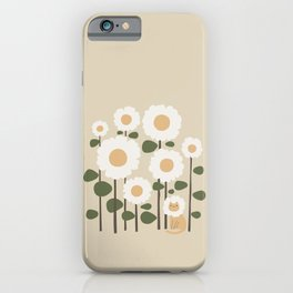 Cat and plant: Catmouflage iPhone Case