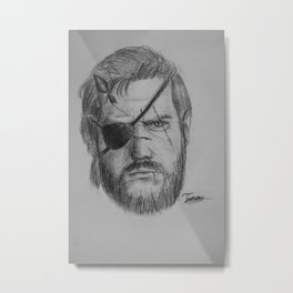 Punished Venom Snake - Metal Gear Solid V: The Phantom Pain Metal Print