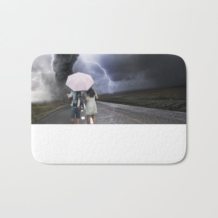 Tornado Bath Mat