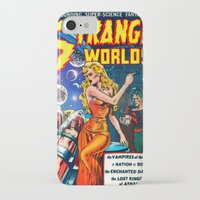 guardians of the galaxy iPhone & iPod Cases featuring STRANGE TALES - GALAXY GUARDIANS - REDUX by PD POP ART