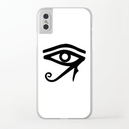 The Eye of Ra Clear iPhone Case