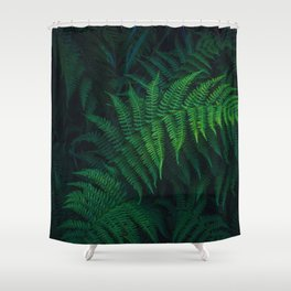 The Greenery Vines (Color) Shower Curtain