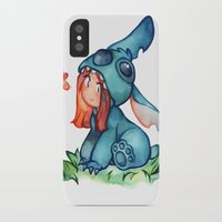 stitch iPhone & iPod Cases featuring stitch  by cynamon