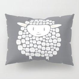Baa baa White Sheep Pillow Sham