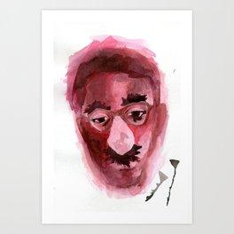 Sad & Clown Art Print