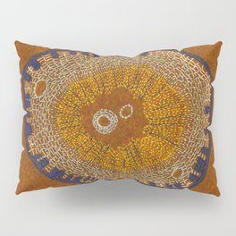 Growing - ginkgo - plant cell embroidery Pillow Sham