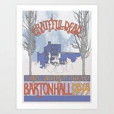 Barton Hall '77 Art Print