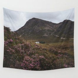 The moorland house - Landscape and Nature Photography Wall Tapestry