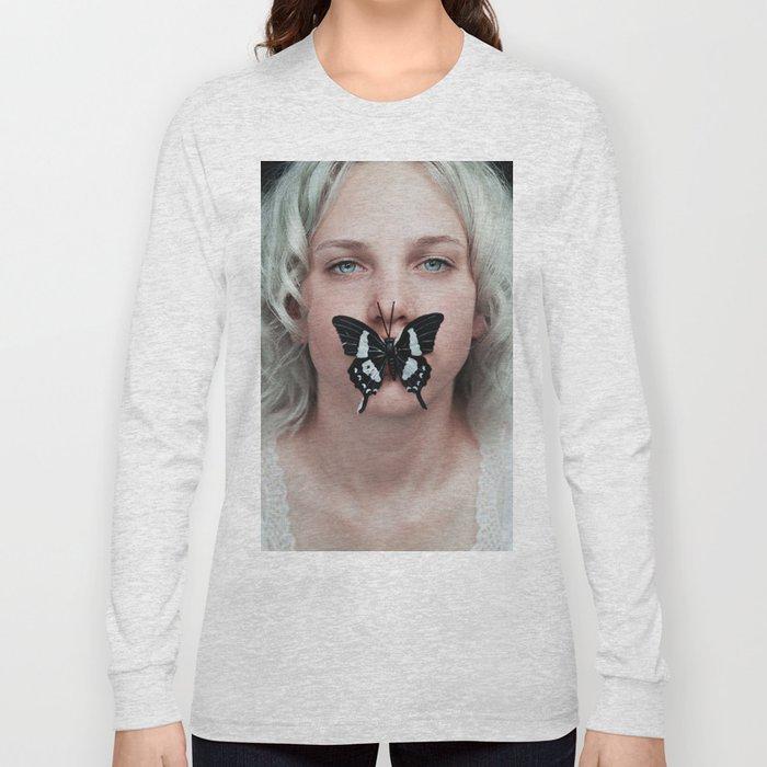 Butterfly girl Long Sleeve T-shirt
