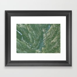 Vance Creek Framed Art Print