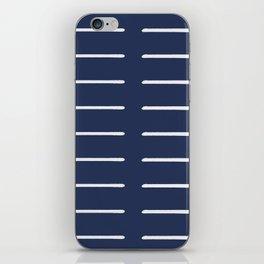 Organic / Navy iPhone Skin