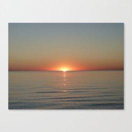 Michigan Sunset 3 Canvas Print