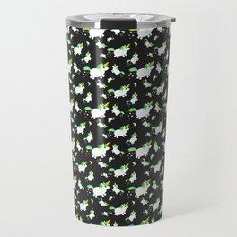 uniCORN PoPCorn POOPcorn pattern Travel Mug