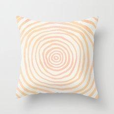 Sweet Premonition Rose Gold Throw Pillow