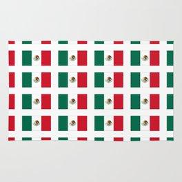 Flag of mexico 3 - mexico,mexico city,mexicano,mexicana,latine,peso,spain,Guadalajara,Monterrey Rug