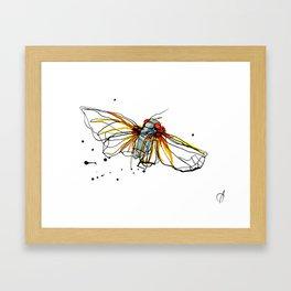Cicada III Framed Art Print