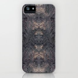 all the crazy feathers iPhone Case