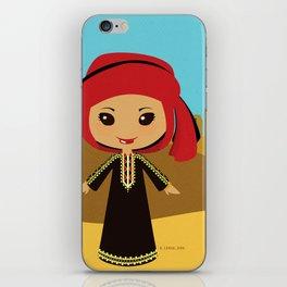 Girls of the World: Yemen iPhone Skin