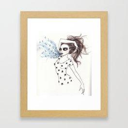 Astro Speak Framed Art Print