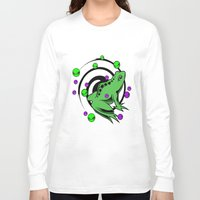 frog Long Sleeve T-shirts featuring Frog  by Michael Moriarty Photography