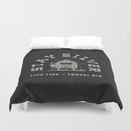 """""""Stay Silver"""" Retro Type (1 color) Duvet Cover"""