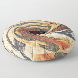 Swirl 07 - Colors of Rust / RostArt Floor Pillow