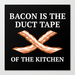Duct Tape Of The Kitchen Canvas Print