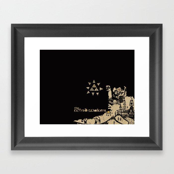 Wind Waker Framed Art Print