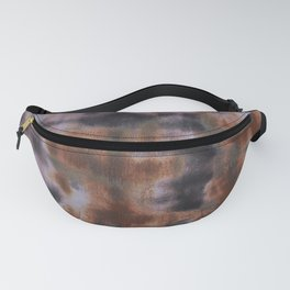 Copper and Iron abstract pattern Fanny Pack