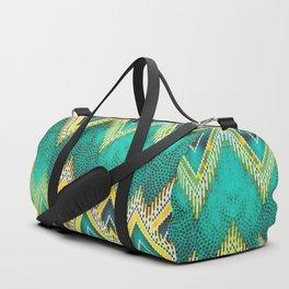 bright big sunrise diamond Duffle Bag