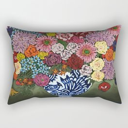 Amsterdam Flowers Rectangular Pillow